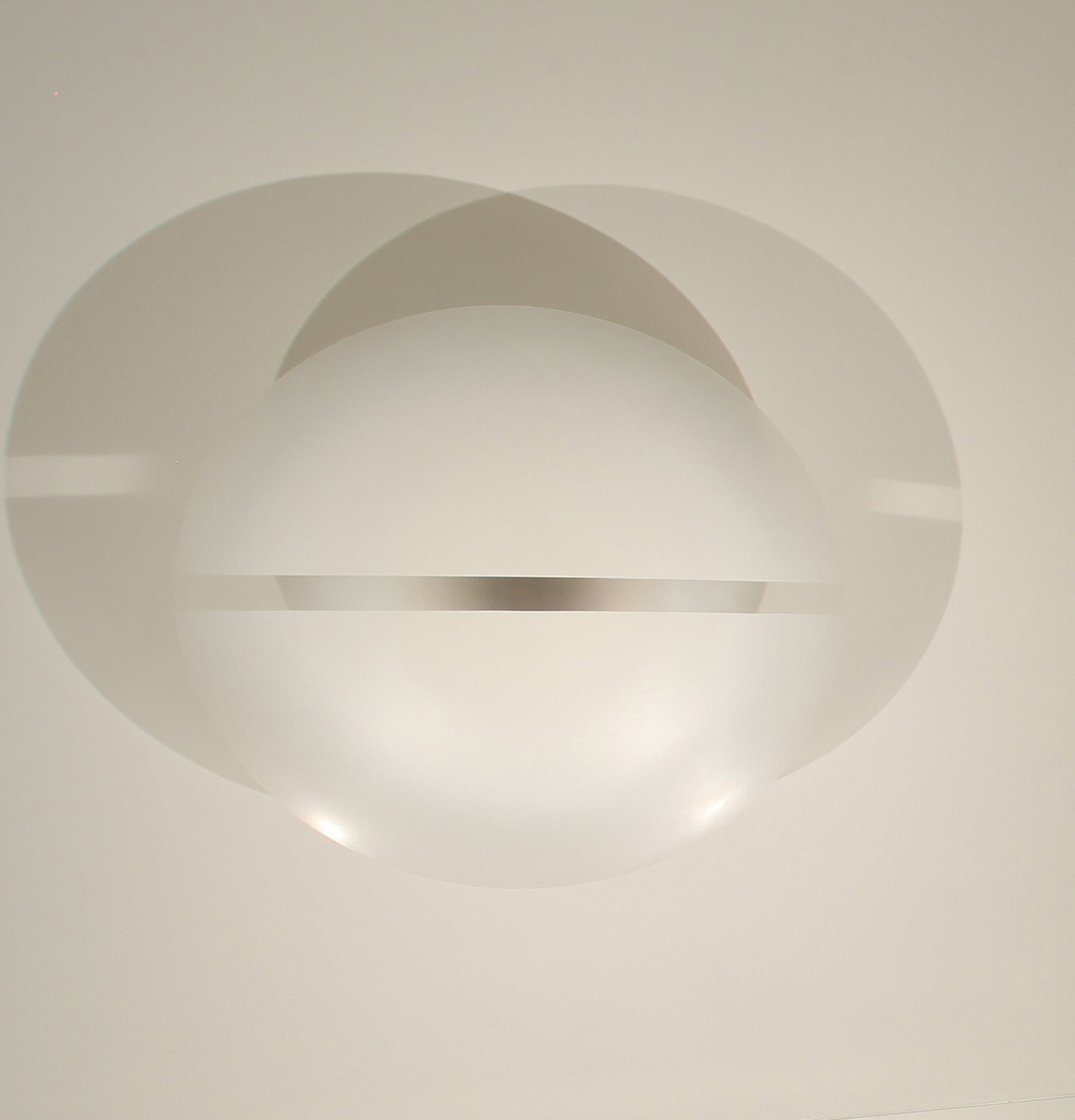 "Robert Irwin, ""Untitled (#2220),"" 1969. 