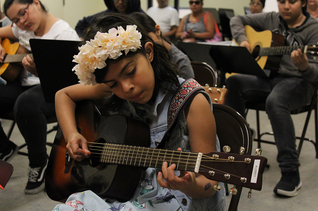 Music lessons at DCA's Lincoln Heights Youth Arts Center | Department of Cultural Affairs, City of Los Angeles