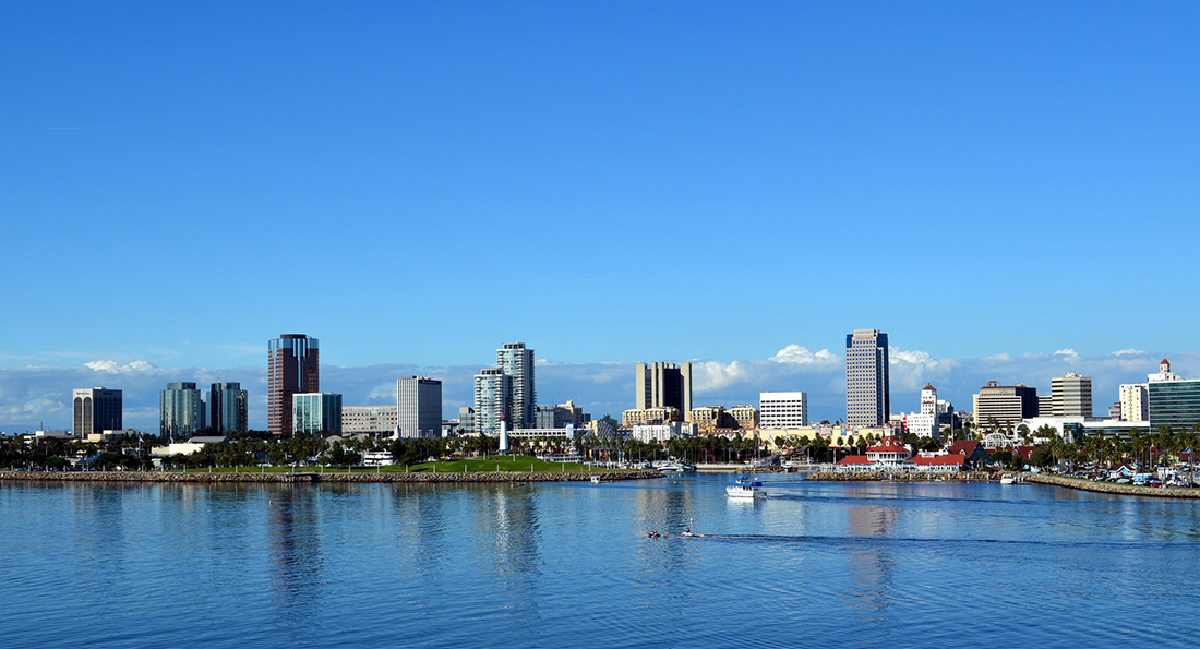 Long Beach skyline in 2012. | Erik Levin/Flickr/Creative Commons