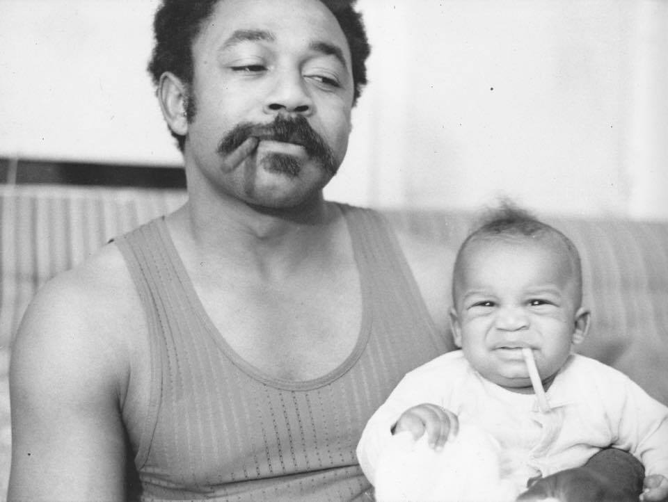 RoHo with his son, Chephren Rasika | Courtesy of Chephren Rasika