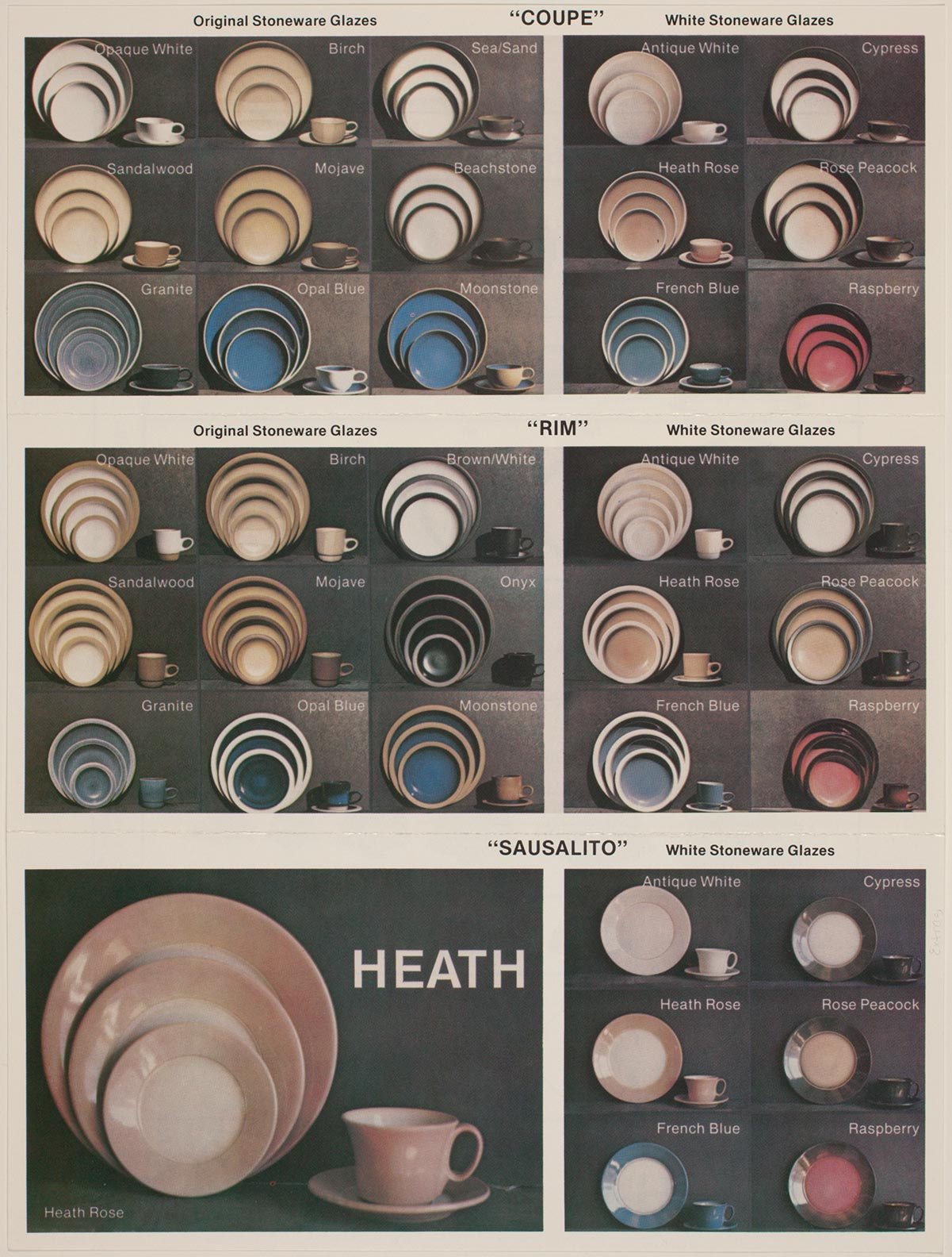 Brochure of Heath's Coupe and Rim Lines | Courtesy of the Environmental Design Archives at UC Berkeley