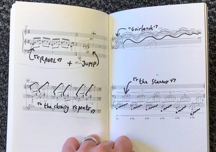 An image from The Choreographers' Scores: 2020. |Anne Teresa De Keersmaeker