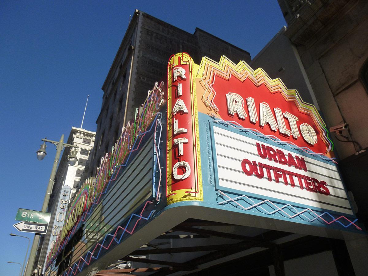 The Rialto's exterior. | Sandi Hemmerlein