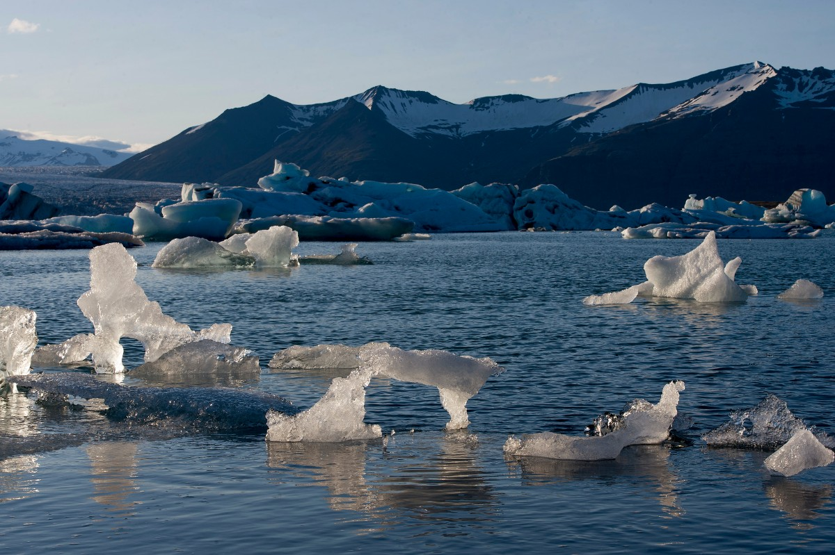 Jökulsárlón Glacial Lagoon, Southeast Iceland | United Nation Photos | Some Rights Reserved