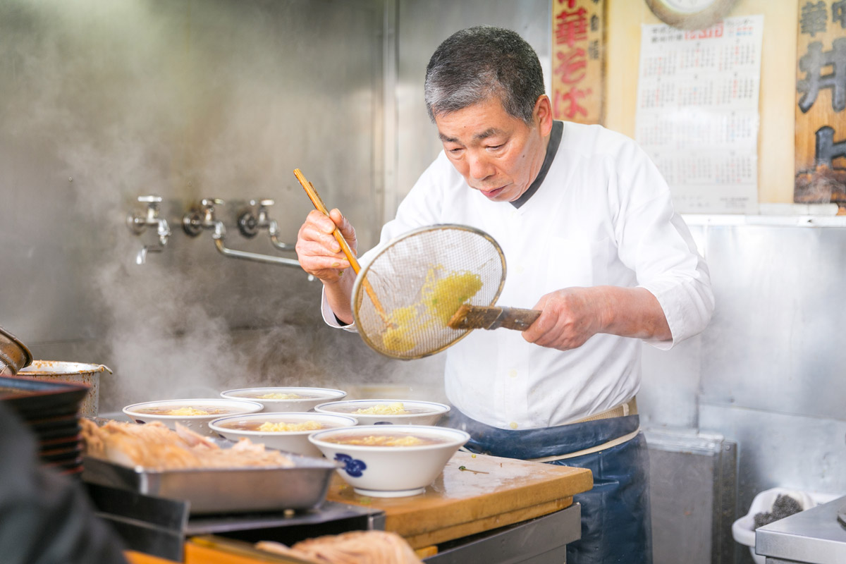 Ramen Chef at Work in Tokyo, Japan. | City Foodsters/Flickr
