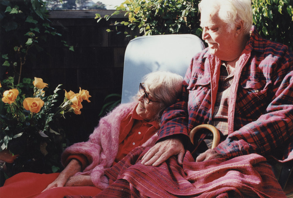 One of the last photos of Edith and Brian Heath together | Courtesy of the Environmental Design Archives at UC Berkeley