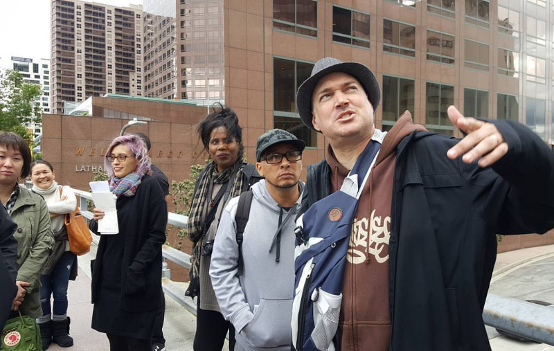 Mike the Poet, Poetics of Location walking tour