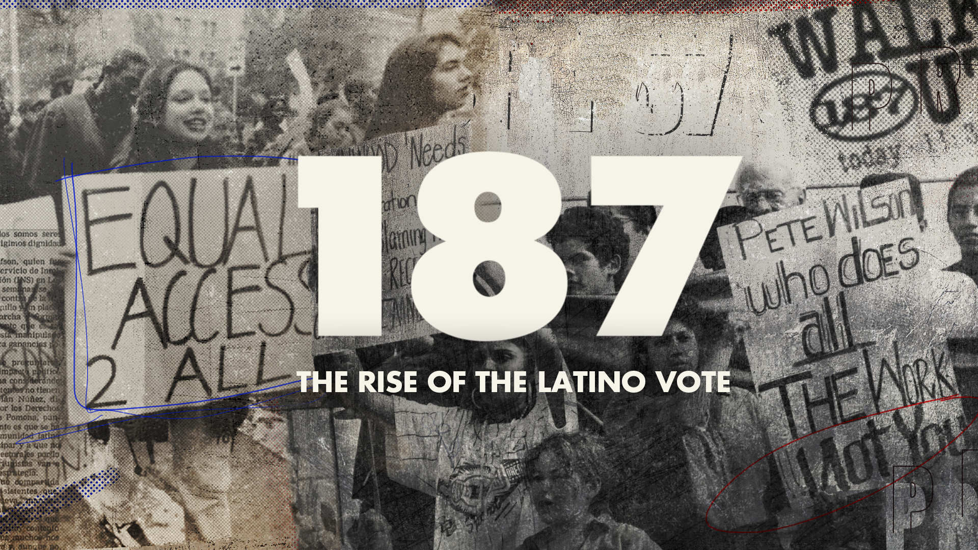 187: THE RISE OF THE LATINO VOTE key art