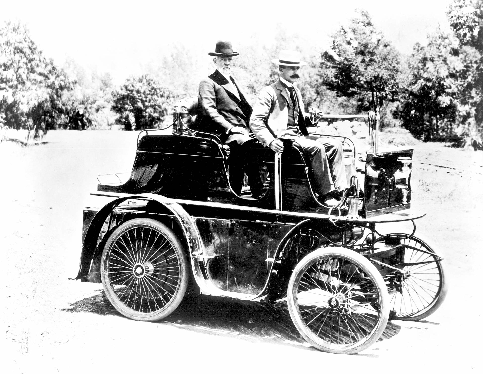 L.A.'s First Automobile