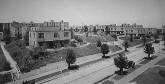 Elevated view of Langston Housing Project complex. c. 1920-ca. 1950 | Theodor Horydczak Collection, Library of Congress, Prints and Photographs Division