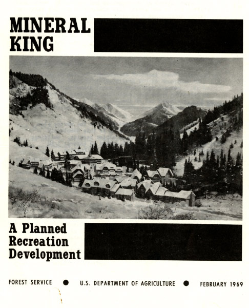 1969 government report on the proposed ski resort