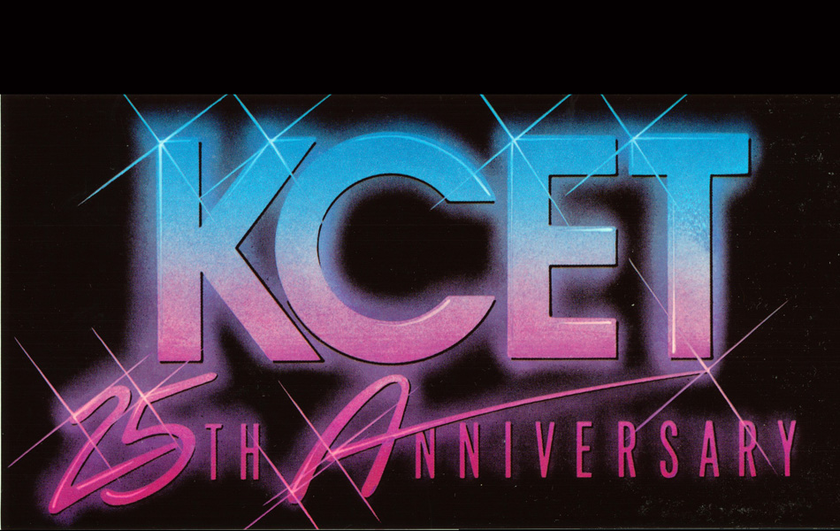 KCET 25th Anniversary Logo