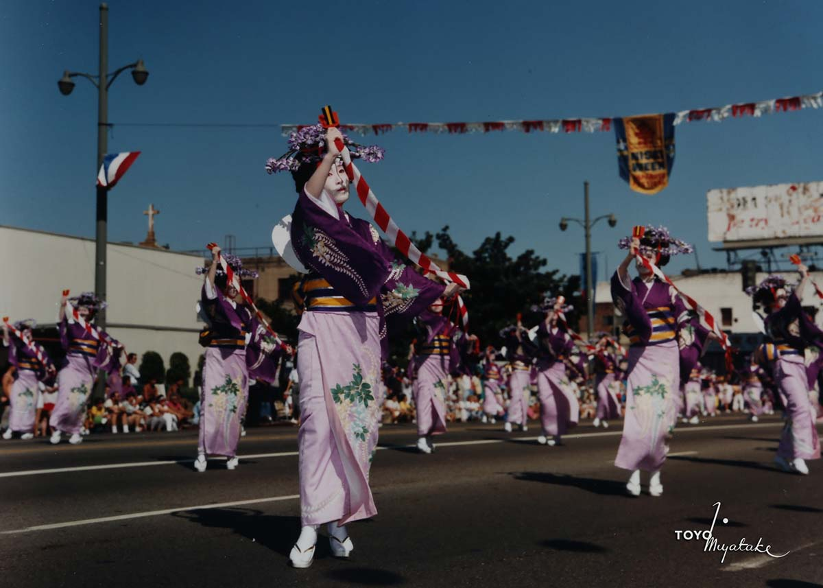 The 1986 Nisei Week Parade | Courtesy of Toyo Miyatake Studio