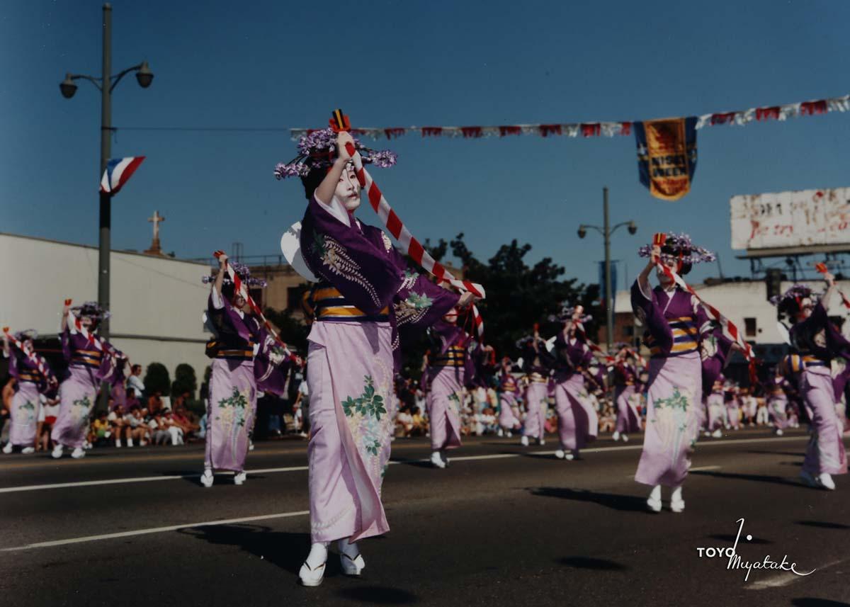 The 1986 Nisei Week Parade | Courtesy of Toyo Miyatake Studio