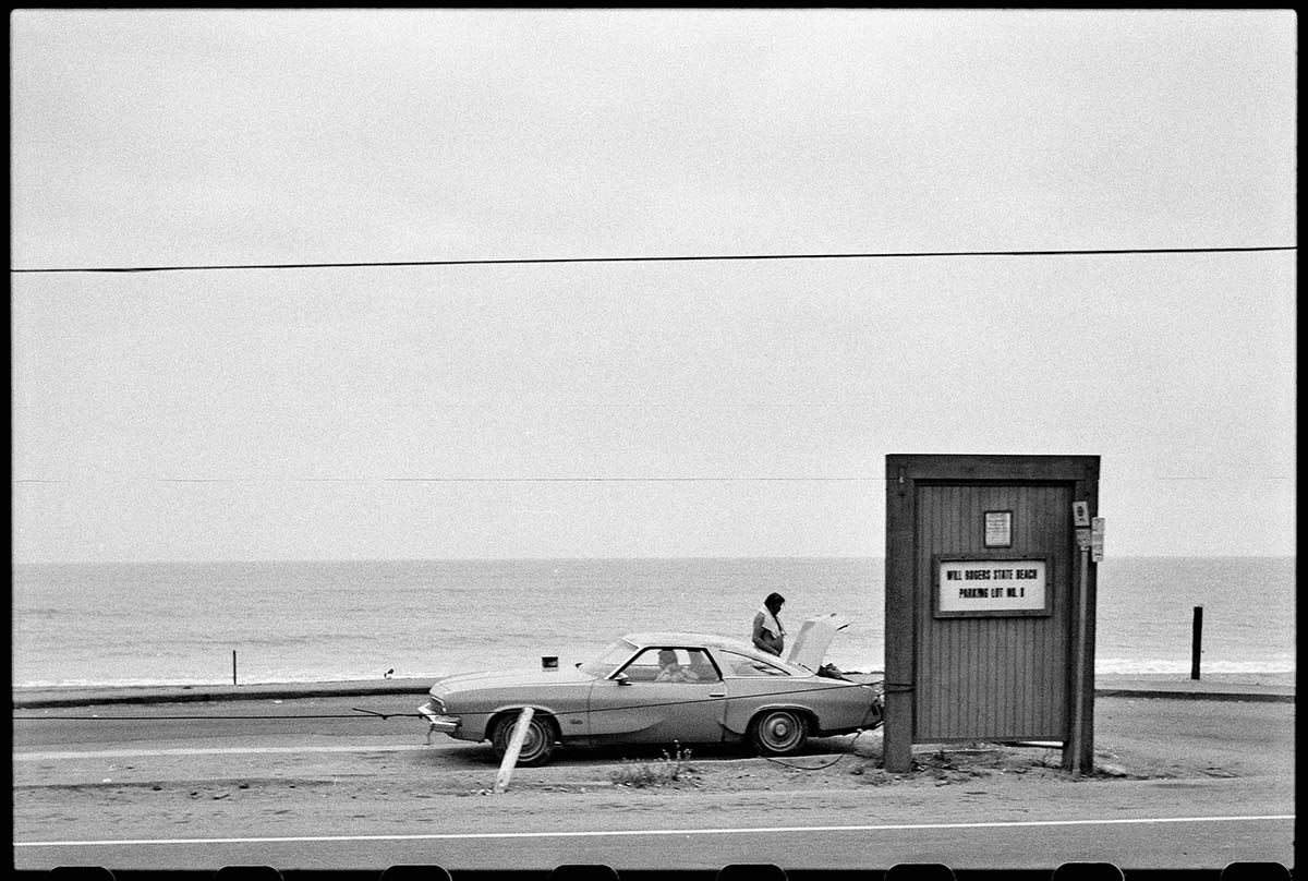 Pacific Coast Highway, 1985, Ed Ruscha.|  Part of the Streets of Los Angeles Archive, The Getty Research Institute, 2012.M.1. © Ed Ruscha