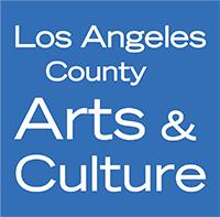 LA County Arts and Culture logo, 2020