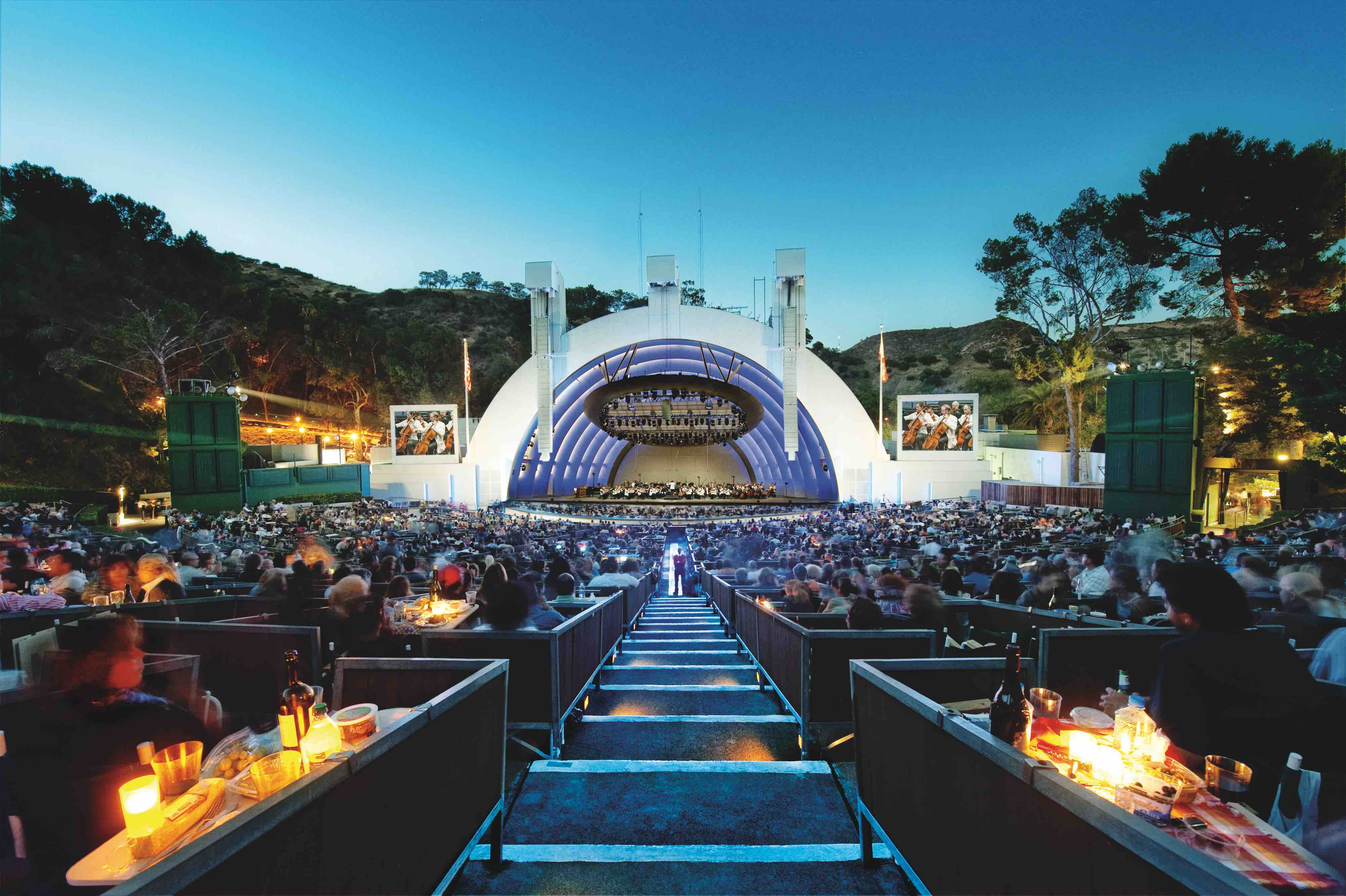 THE HOLLYWOOD BOWL in 2011 (Image courtesy of Adam Latham)