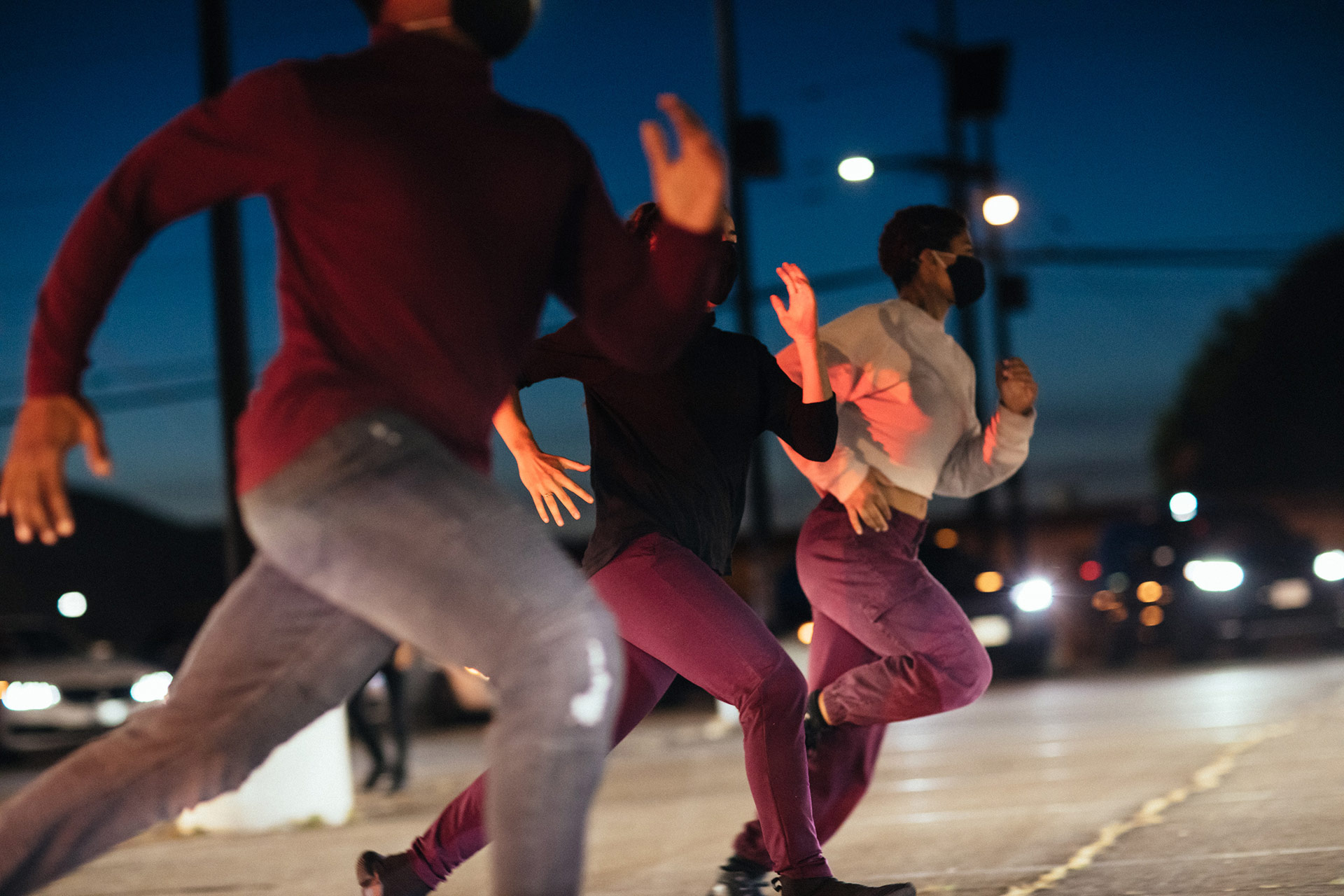 "Dancers perform in ""Parked."" 