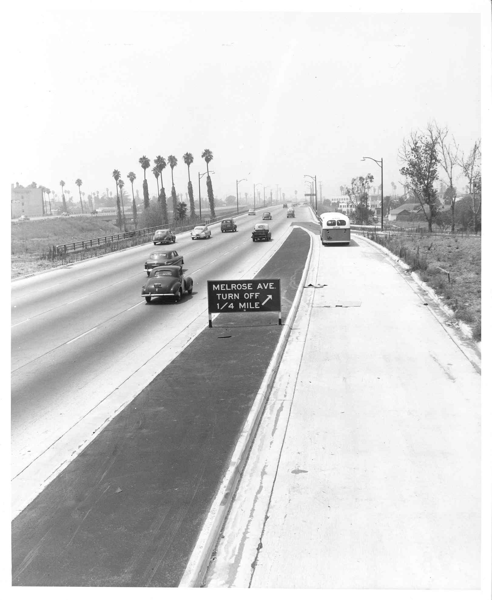 Hollywood Freeway at Vermont