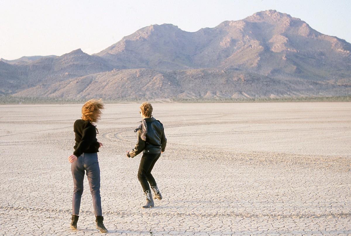 2 lone dancers, Desolation Center: Mojave Exodus, 1983 | Scot Allen