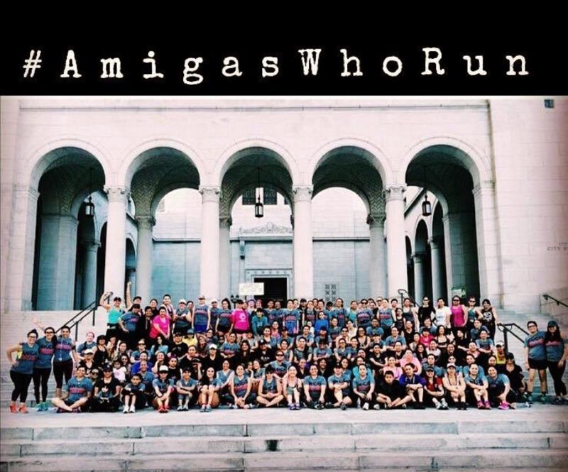 Amigas Who Run at City Hall