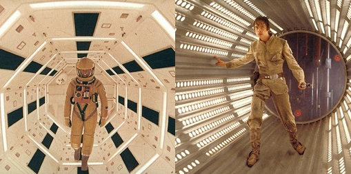 """Comparison of """"2001: A Space Odyssey"""" and """"Star Wars."""" 