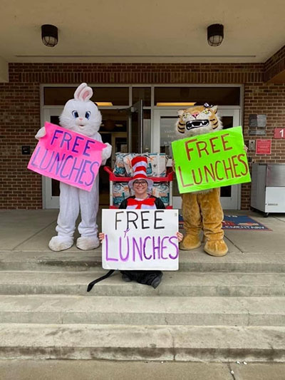 School food service staff are feeding students with fun | Patty Brownfield Rice in Pendleton County, Kentucky