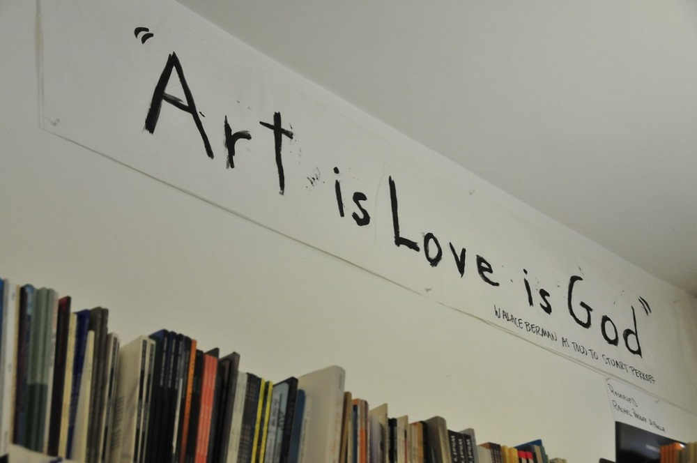 """Art is Love is God"" at Beyond Baroque"