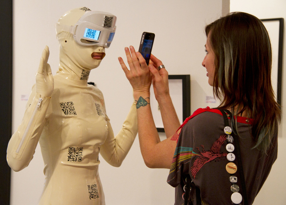 Body Code Performance Documentation at Context Art Miami © Tiffany Trenda 2012.