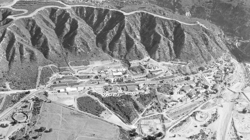 JPL from above in 1950. | NASA/JPL-Caltech