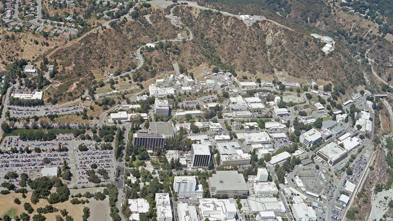 JPL from above in 2005. | NASA/JPL-Caltech