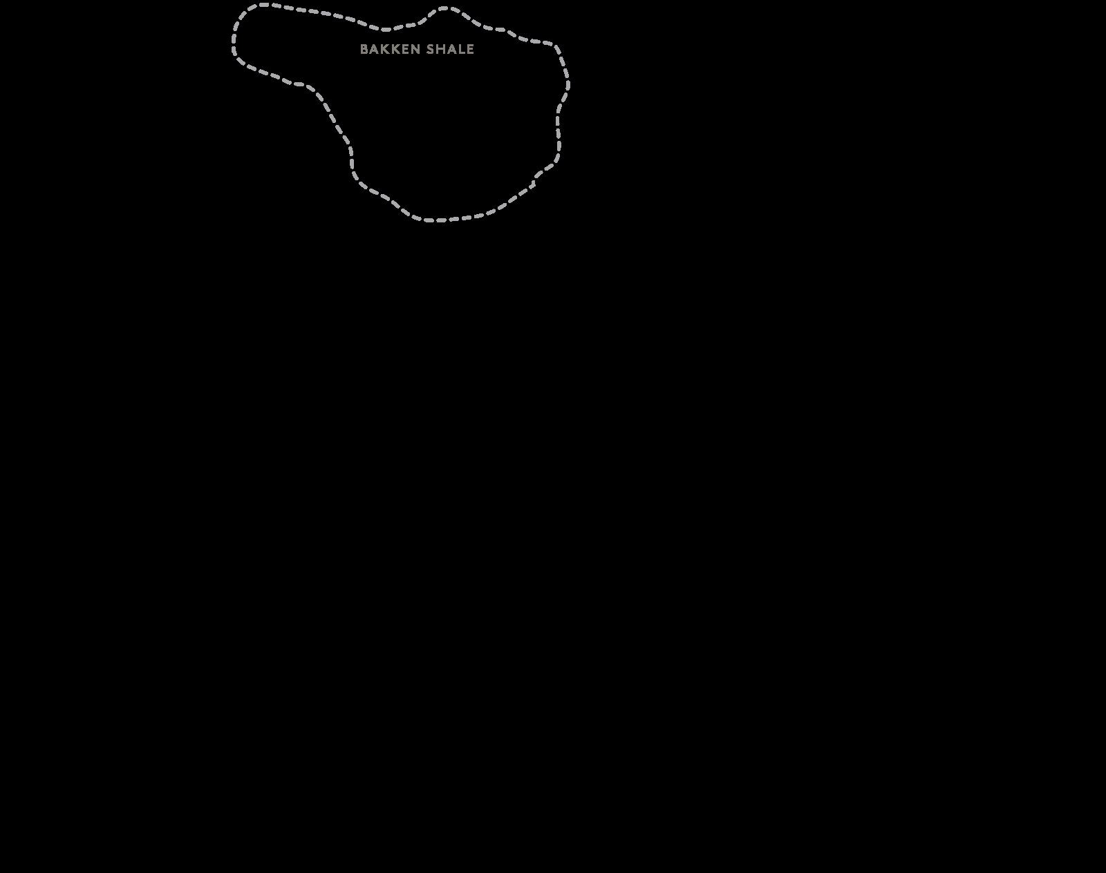 Bakken Shale Petroleum Deposit