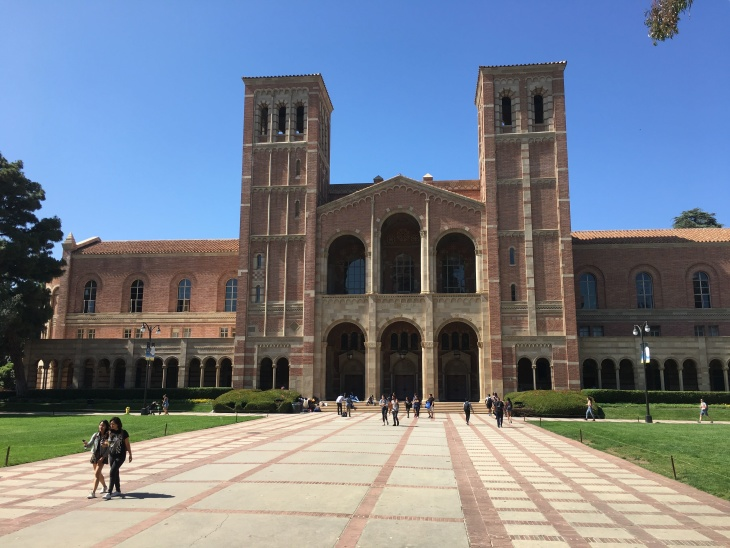 Royce Hall is pictured at the University of California, Los Angeles. | Adolfo Guzman-Lopez/LAist