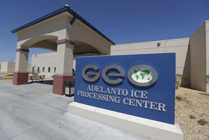 Adelanto U.S. Immigration and Enforcement Processing Center. | Chris Carlson/AP