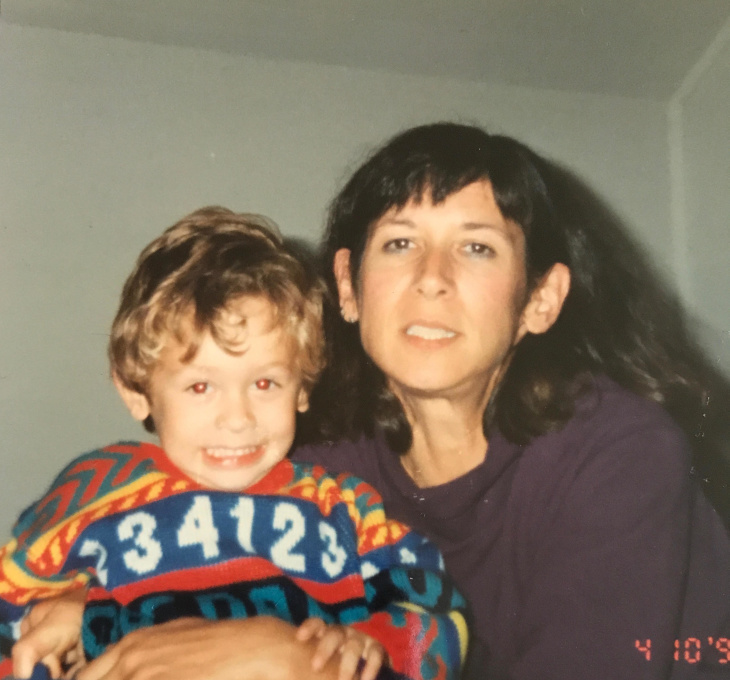 Tariq Carlson, left, and mom Diane Rabinowitz. Carlson is diagnosed with paranoid schizophrenia and is incarcerated at Twin Towers jail. | Courtesy of Diane Rabinowitz