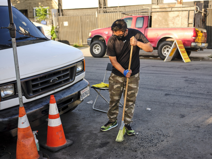 """""""Where I live,"""" said Juan Constantino, 17, who will be a high school senior next year, """"we all have to grow up real fast and take up responsibilities."""" 