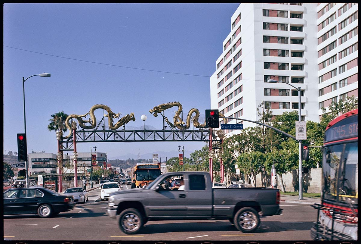 From Cesar Chavez Avenue, 2007, Ed Ruscha. | From the Streets of Los Angeles Archive. The Getty Research Institute,2012.M.1. © Ed Ruscha