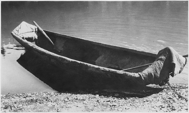 Hupa Dugout Canoe, Trinity River