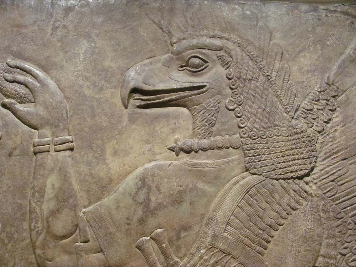 Nimrud Relief from the Neo-Assyrian Period, at the Los Angeles County Museum of Art | rocor / Flickr / CC BY-NC 2.0