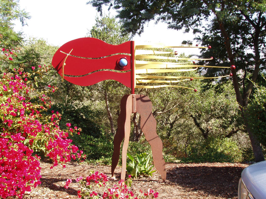 Free Standing Sculpture by Jim Jacobson