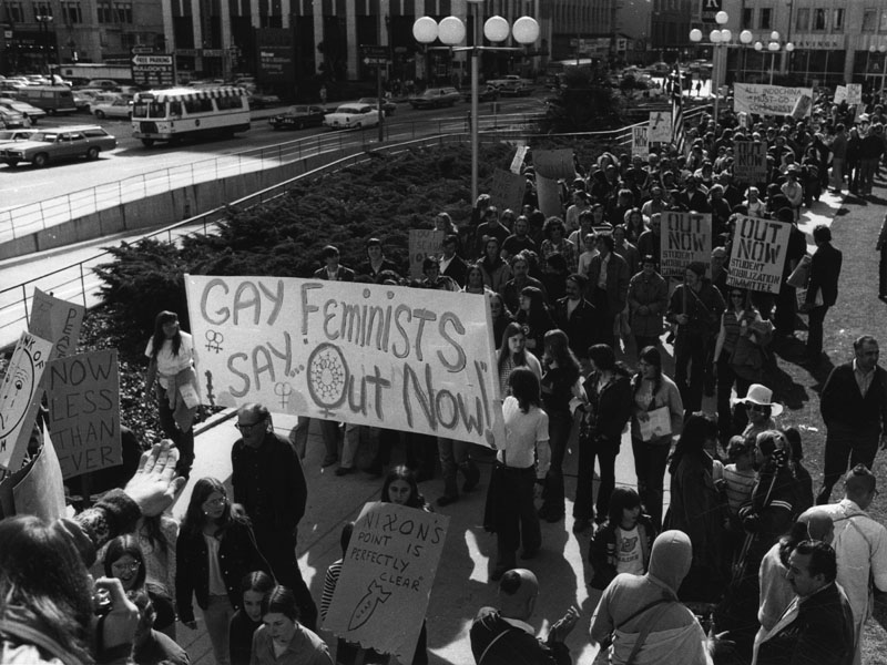 Protests against the Vietnam War on April 22, 1972 attracted more than 6,000 who marched peacefully along Wilshire Boulevard to MacArthur Park.