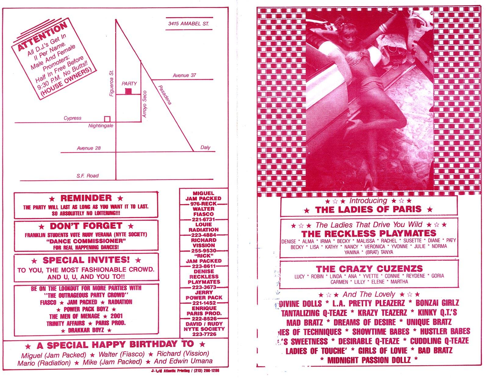 Backyard Parties: 1980s | East L A 's DJ Culture | Link TV