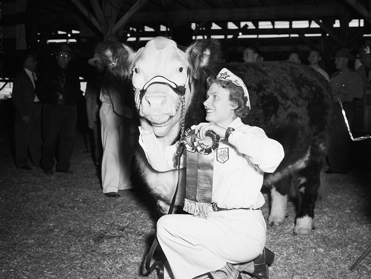 The 1951 Great Western Livestock Show | Courtesy of Angel City Press