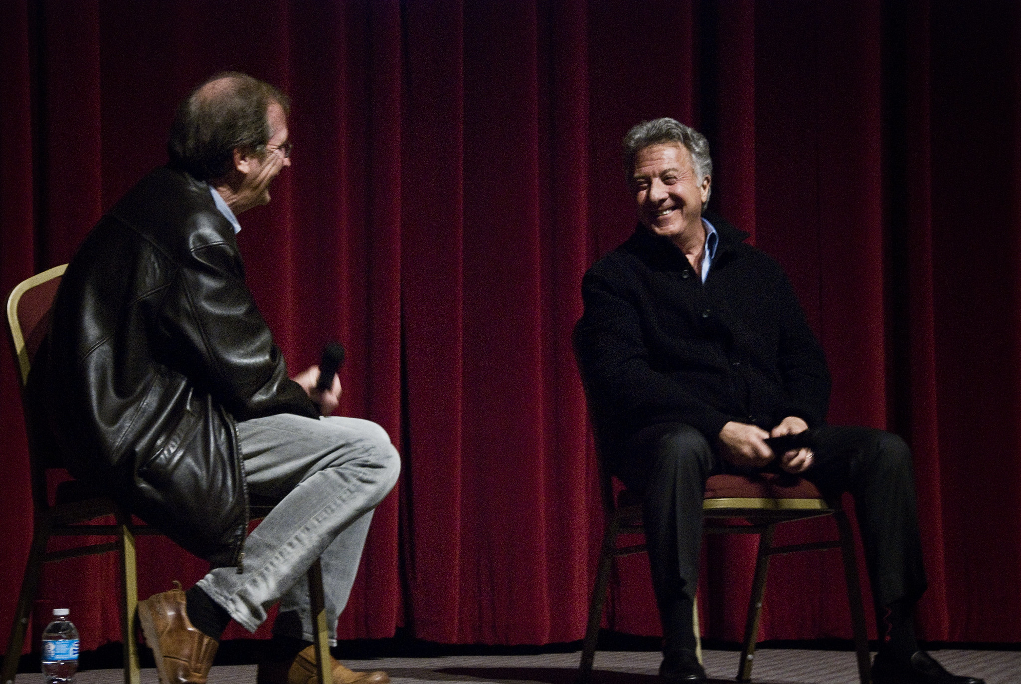 "Dustin Hoffman answered audience questions at the December 11, 2012 KCET Cinema Series screening of ""Quartet."""
