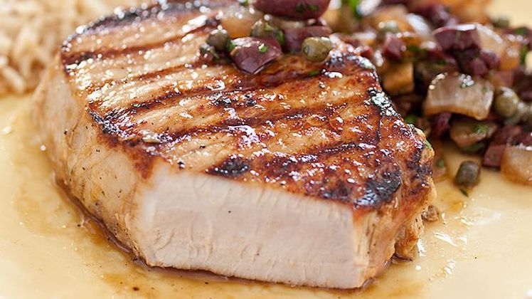 Boneless Grilled Pork Chops