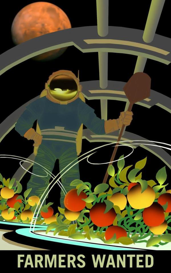 Exploring Mars: Farmers Wanted
