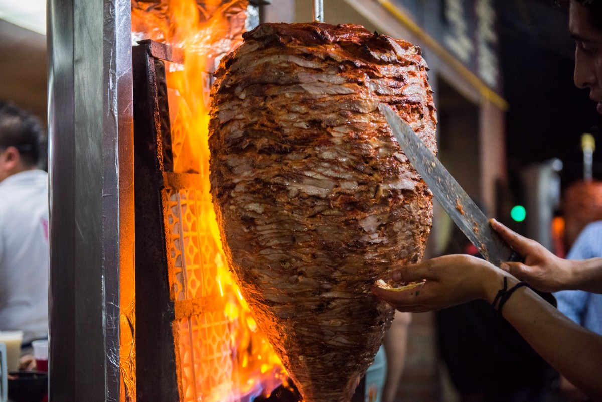 A trompo at Vilsito, a taquería in Mexico City | Ana Tello/Eat Mexico
