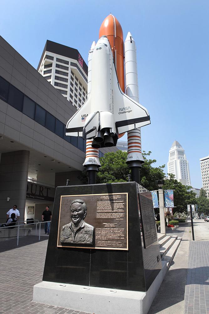 Onizuka Memorial | Flickr/Sam Howzit/Creative Commons (CC BY 2.0)