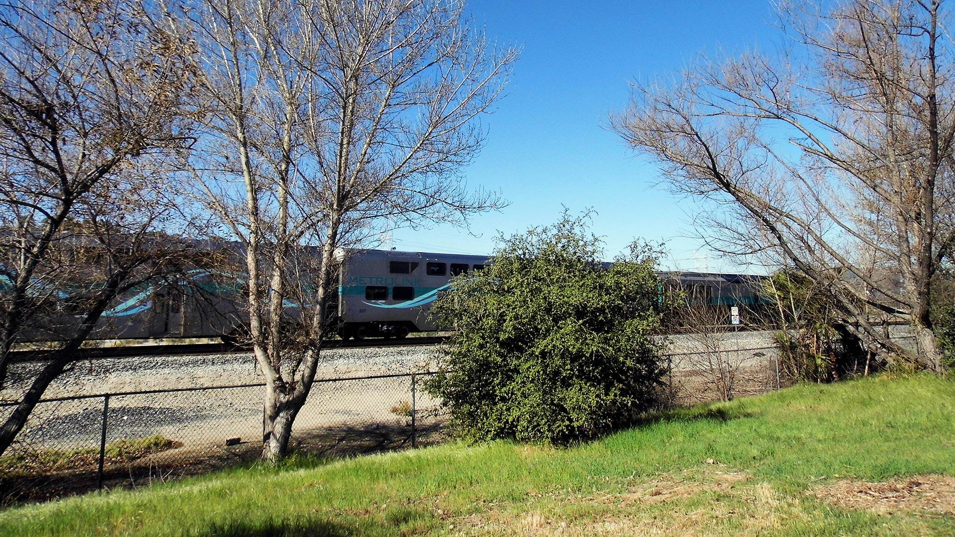 Trains near Taylor Yard River Park. | Sandi Hemmerlein