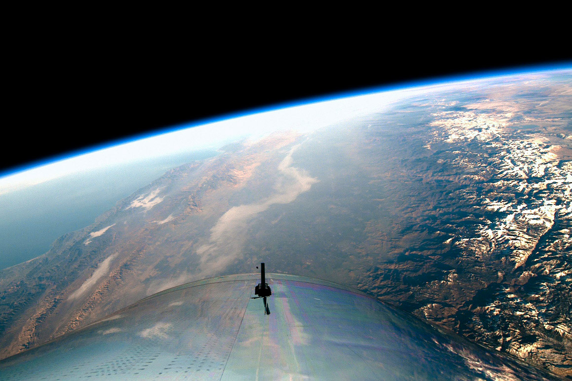 SpaceShipTwo VSS Unity entered space for the first time on December 13, 2018. | Virgin Galactic